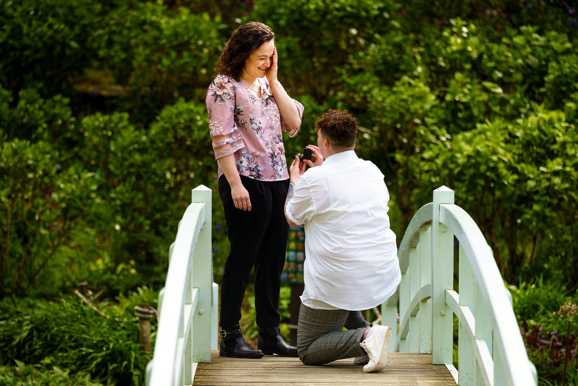 Trebah gardens wedding proposal 2